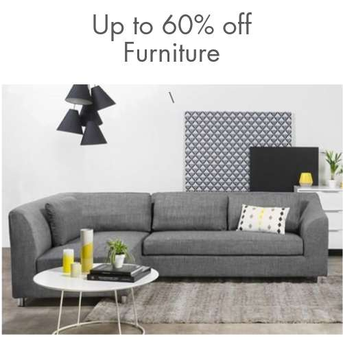 Furniture: Up to 60% off