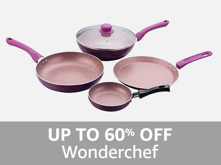 Wonderchef: Up to 60% off