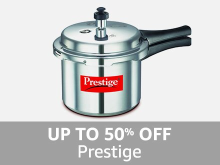 Prestige: Up to 50% off