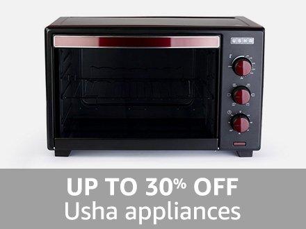 Usha: Up to 30% off