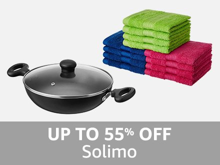 Solimo: Up to 55% off