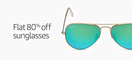 Amazon: FLAT 80% OFF on Sunglasses