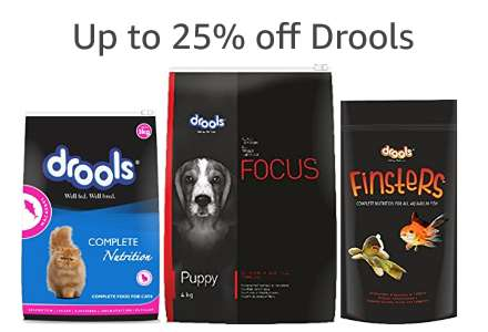 Up to 25% off Drools