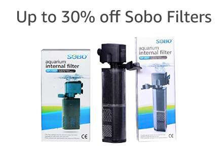 Up to 30% off Sobo filters