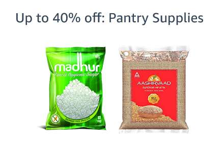 Up to 40% off: Pantry Supplies