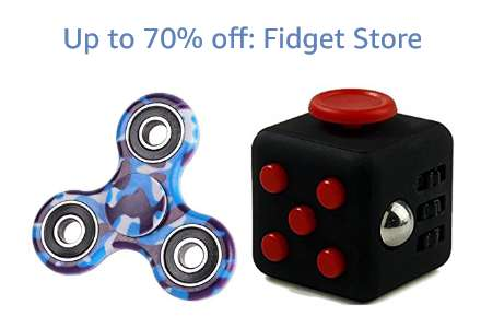 Up to 70% off: Fidget Store