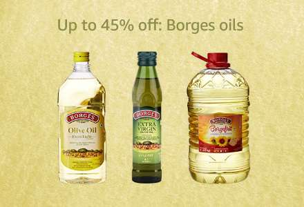 Up to 45% off: Borges oils
