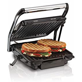 buy hamilton beach 25451 in 1200 watt panini press and indoor grill sandwich maker online at low. Black Bedroom Furniture Sets. Home Design Ideas