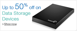 Up to 50% off on Data Storage Devices