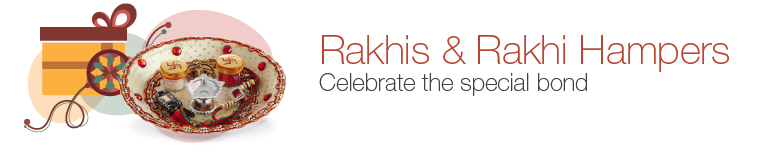 Rakhis & Rakhi Hampers