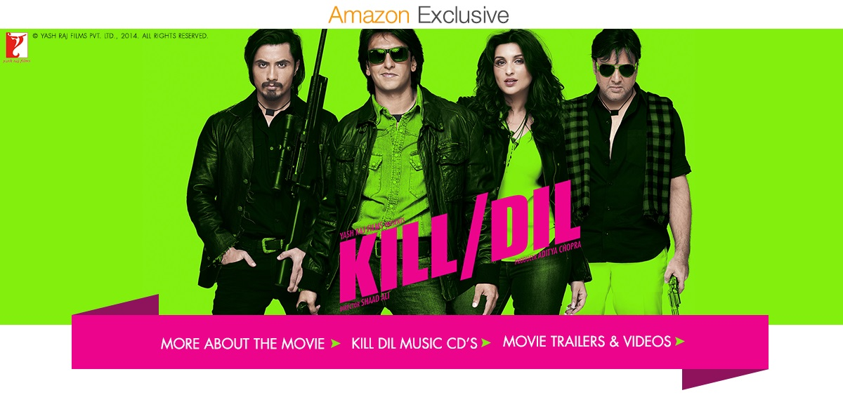 amazonin kill dil official movie store