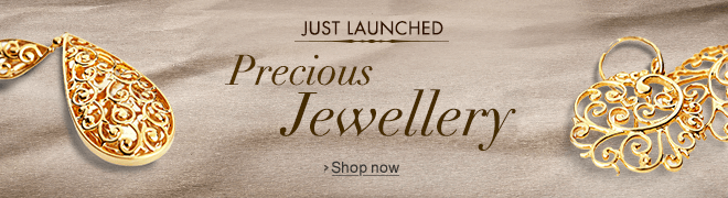 Just Launched: Precious Jewellery