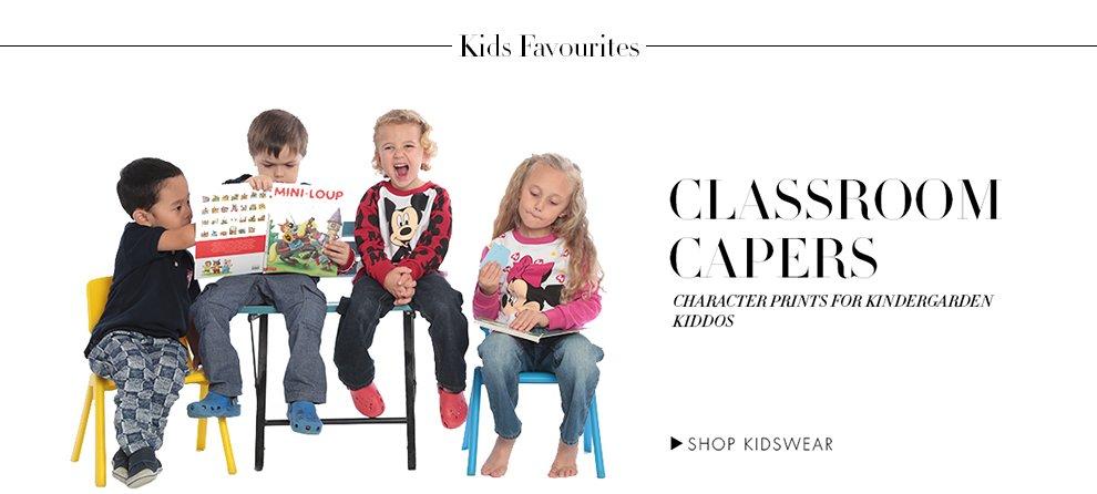 AF Classroom Capers
