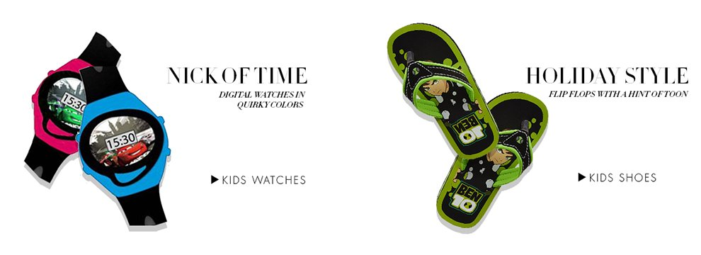 Kids-Shoes-Watches