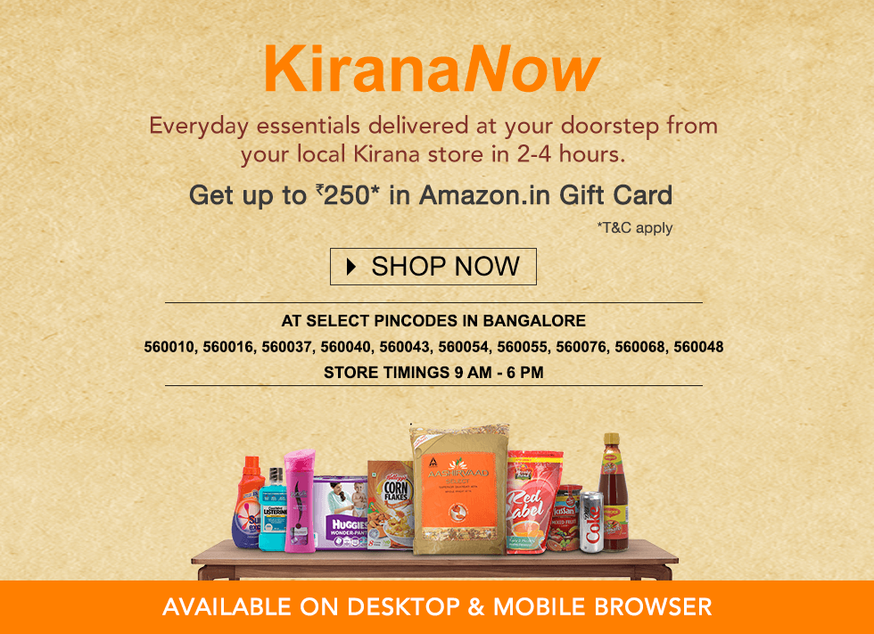 Launching Amazon KiranaNow - Everyday Essentials in 2-4 Hours