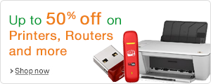 Upto 50%OFF on Printers, Routers and More | Online Shop at Amazon.in