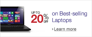 Up to 20% off on Popular Laptops