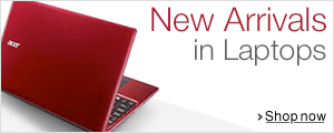 New arrivals in Laptops