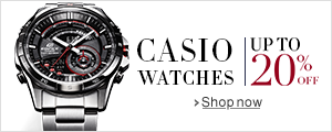 Sale on Casio watches: Upto 20% off