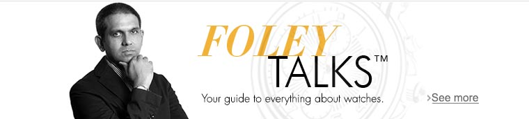 Michael Foley talks about latest trends in Watches: Domestic and International