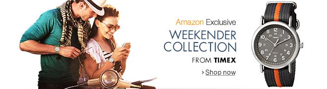 Amazon Exclusive: Timex Weekender