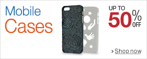 Up to 50% off on Mobile Cases