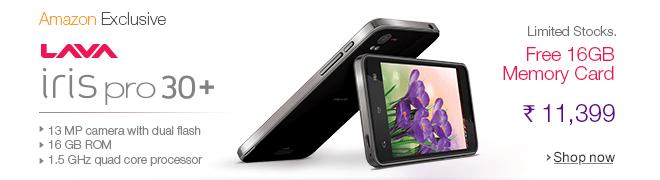 Lava iris Pro 30+ Smartphone