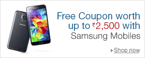 Free Recharge Coupon worth Rs.2,500 with select Smartphones