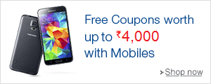 Free coupons worth Rs.4,000 with select Mobiles