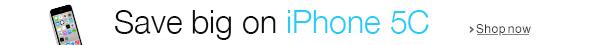Save big on iPhone 5C