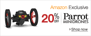 20% off on Parrot Minidrones