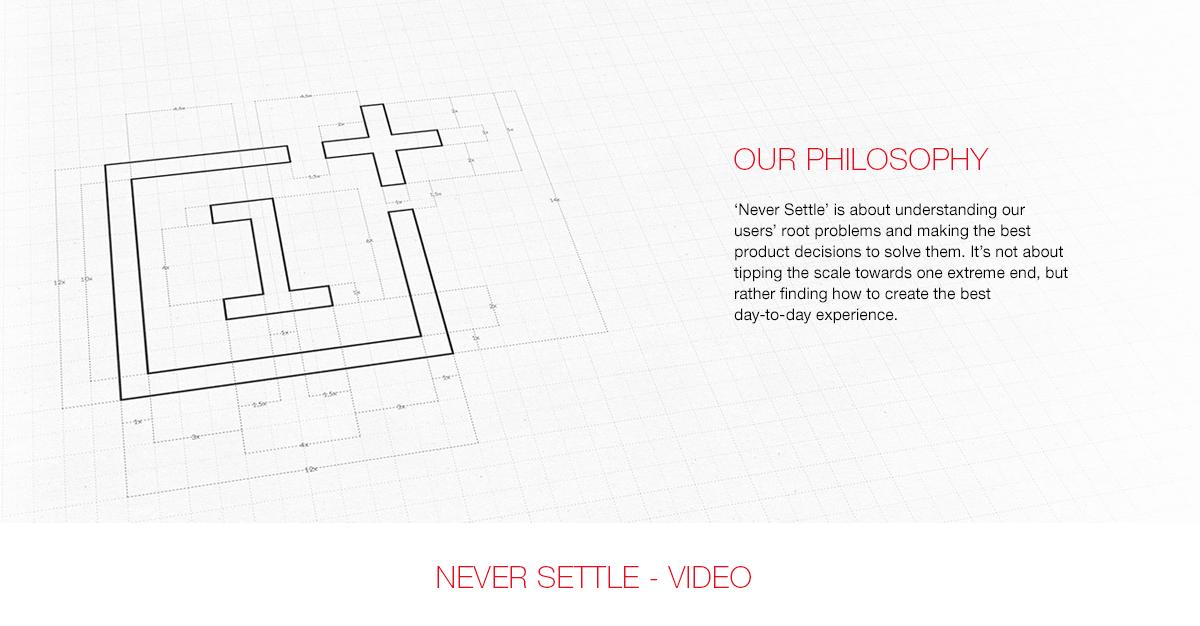 OnePlus Philosophy
