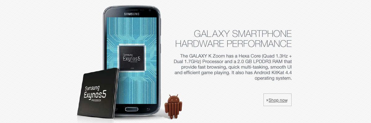 GALAXY SMARTPHONE HARDWARE PERFORMANCE