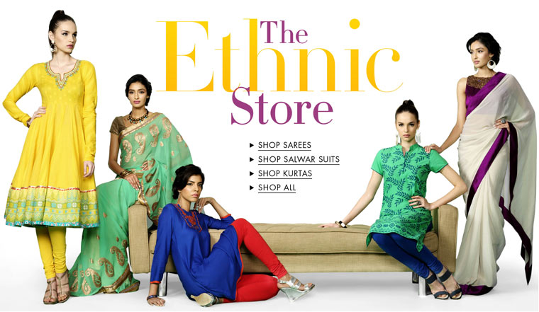 The Ethnic wear Store