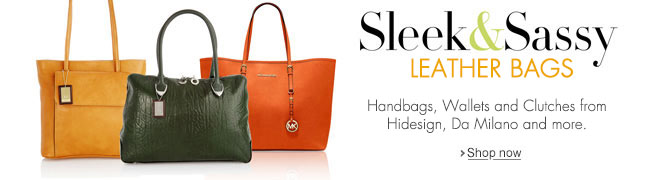 Leather Handbags & Clutches