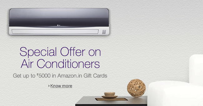 Special Offer on Air Conditioners