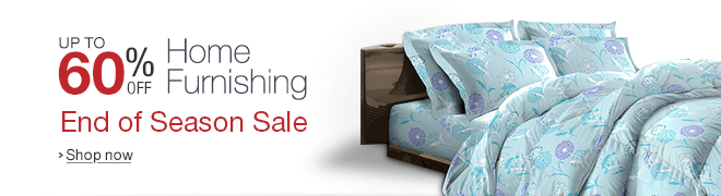 Home Furnishing: Up to 60% off