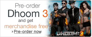Pre-order Dhoom 3 Blu-ray or DVD