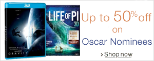 Up to 50% off on Oscar Nominees