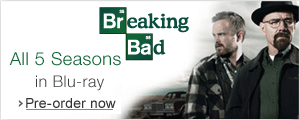 Breaking Bad All 5 seasons in Blu-ray