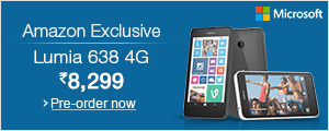 Nokia Lumia 638: Amazon Exclusive