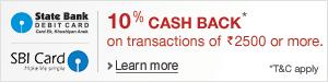 SBI Cashback