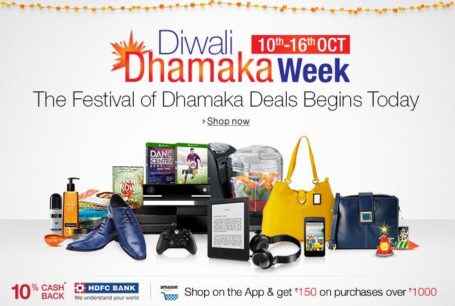 Amazon Diwali Dhamaka