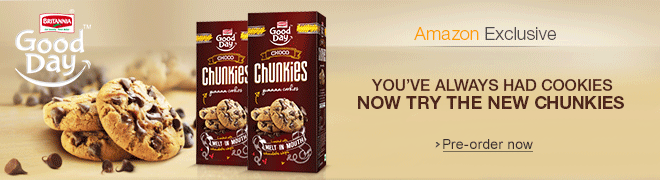 Britannia Good Day Chunkies - Amazon Exclusive at Gourmet & Specialty Foods