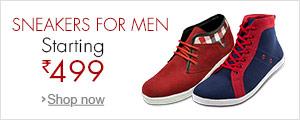 Men's Sneakers Starting 499