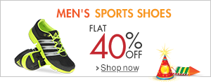 40% Off Sports Shoes