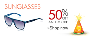 50% Off Sunglasses
