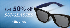Flat 50% Off Sunglasses