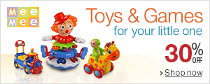 Up to 30% off on Mee Mee Toys & Games
