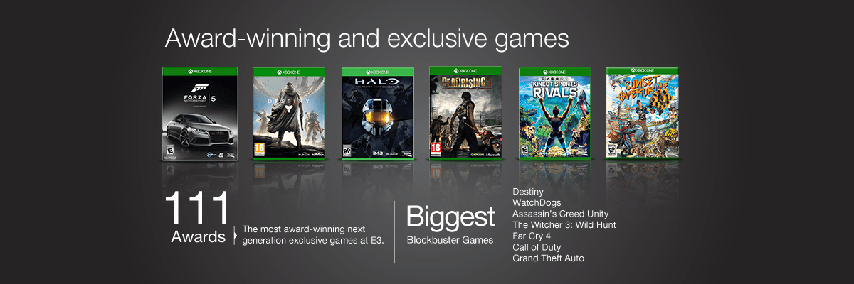Play The Best Games on Xbox One